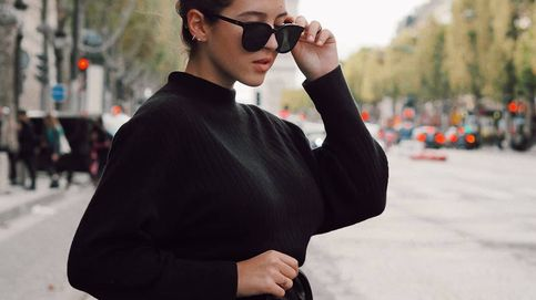 Alba Díaz apuesta por un look de Zara totalmente negro y con toque rockero