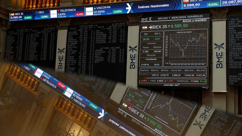 Los grandes fondos retiran la apuesta por la bolsa española con el ruido político
