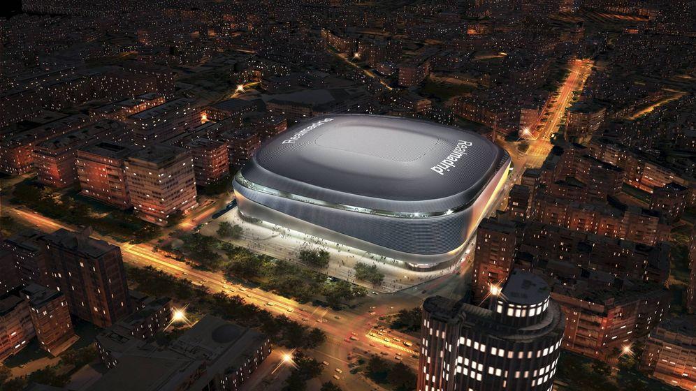 Foto: El nuevo Bernabéu. (Ayuntamiento de Madrid)