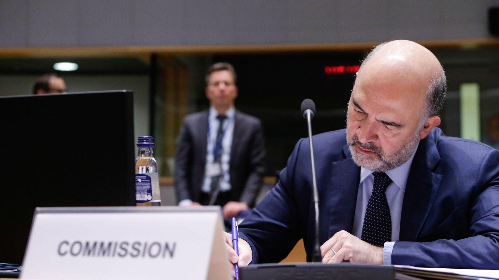 Foto: El comisario europeo de Asuntos Económicos. (EFE)