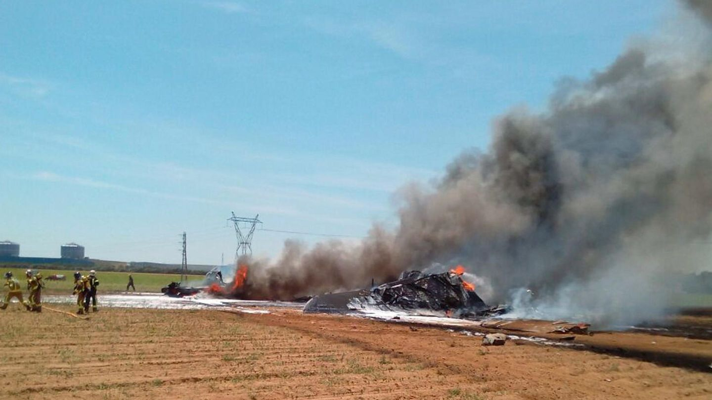 ÁLBUM: El accidente del Airbus, en imágenes.