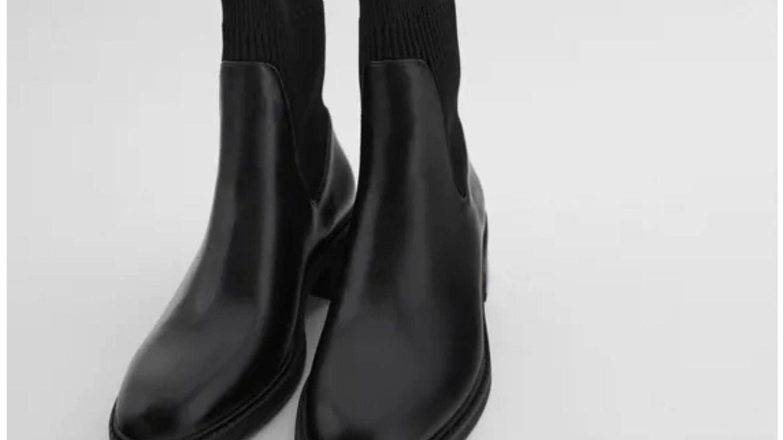 Nuevos botines de Zara. (Cortesía)