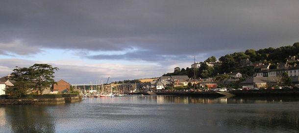 Foto: Imagen actual de la bahía de Kinsale, en el condado de Cork, Irlanda.