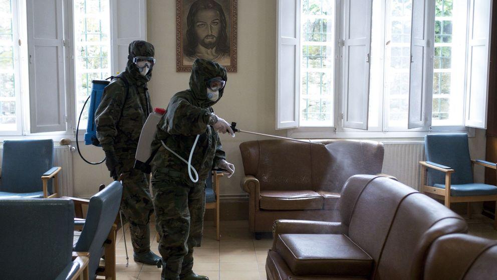 Fuerte caída de las muertes por coronavirus en las residencias de Madrid: 17 en tres días