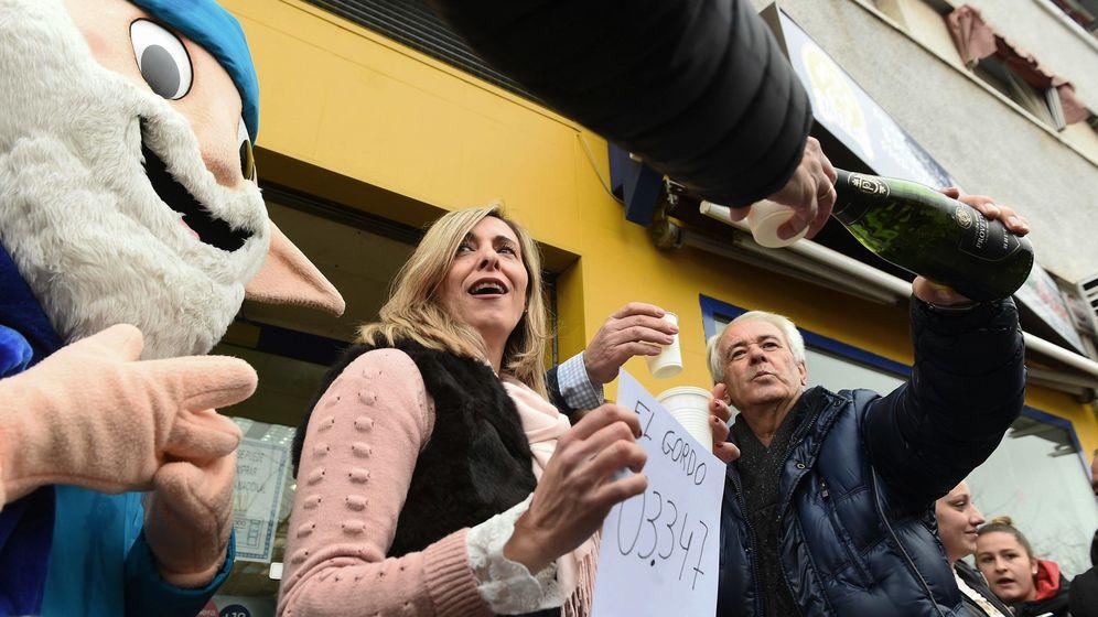 Foto: El Gordo riega gran parte de España