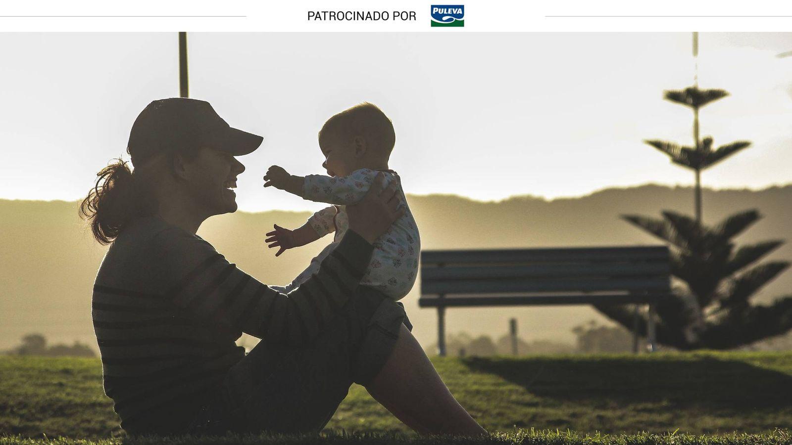 Foto: Una madre y su bebé.