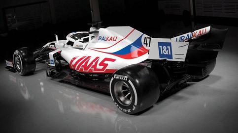 El 'nuevo' Haas, el equipo americano de colores rusos y su piloto 'manos largas'