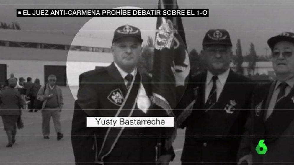 Foto: Imagen del juez Yusty Bastarreche en un vídeo de La Sexta.