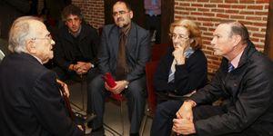 Ibarretxe baja a las 'catacumbas' de Madrid