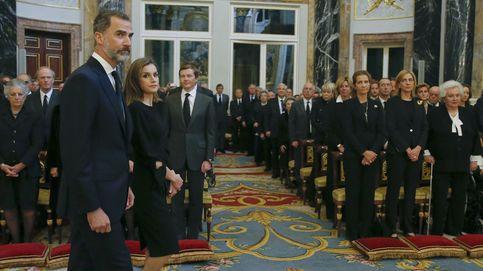 Los Reyes presiden el funeral de Alicia de Borbón-Parma