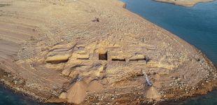 Post de La sequía que asola Irak saca a la luz un palacio de más de 3.400 años