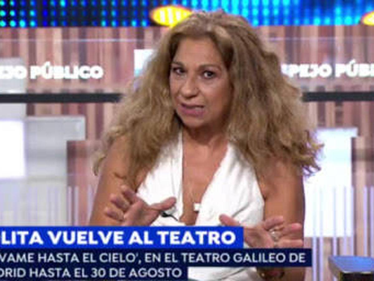 Foto: Lolita, en 'Espejo público'. (Antena 3)