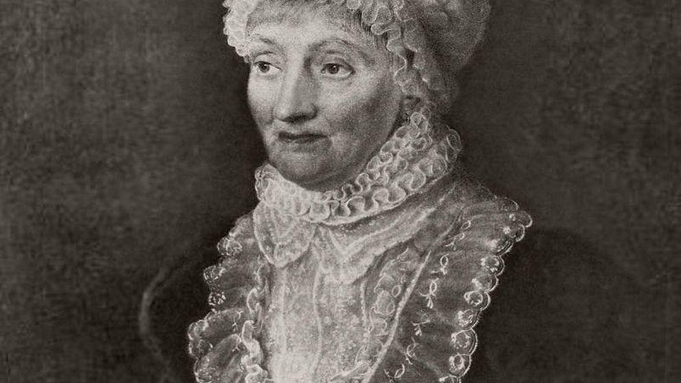 Así era Caroline Herschel, la primera astrónoma en descubrir un cometa