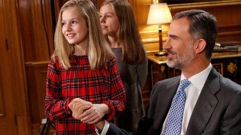 Veinte niños, invitados al Palacio Real para que la princesa Leonor reciba el Toisón