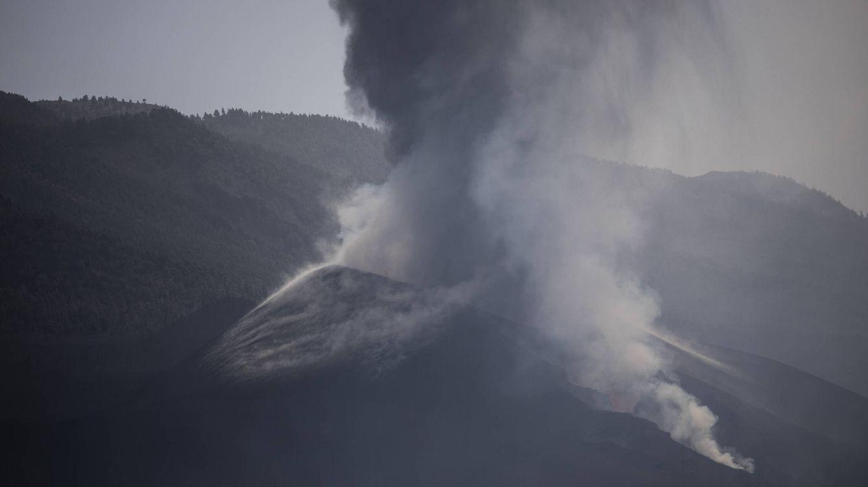 Foto: Erupción del volcán de Cumbre Vieja, en La Palma. (Alejandro Martínez Vélez)