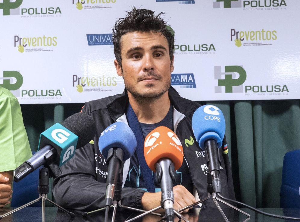 Foto: El pentacampeón del mundo de triatlón Javier Gómez Noya (EFE)