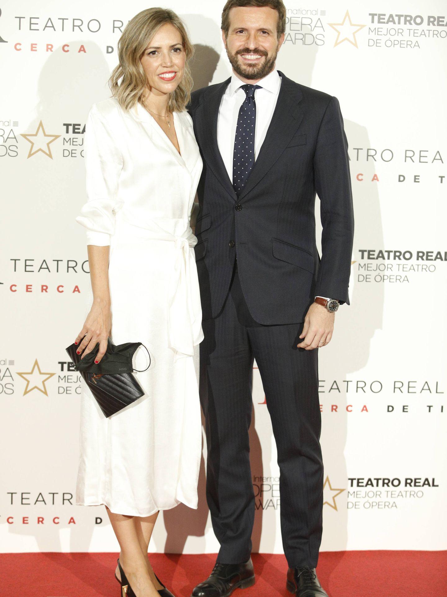Isabel Torres y Pablo Casado. (LP)