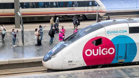 Un tren de Ouigo vuelve a Barcelona por un fallo en la velocidad