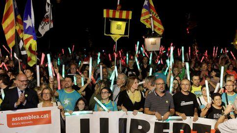Armas del soberanismo contra el fallo: un 'ejército' de 116.000 activistas radicalizados