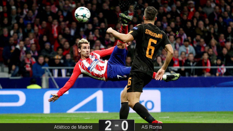 Griezmann obliga al Atlético a creer en el milagro de los octavos... y en él mismo