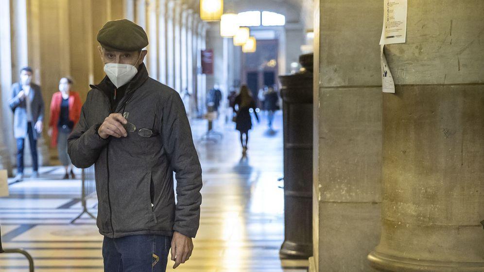Foto: Josu Ternera, en el Palacio de Justicia de París. (Reuters)