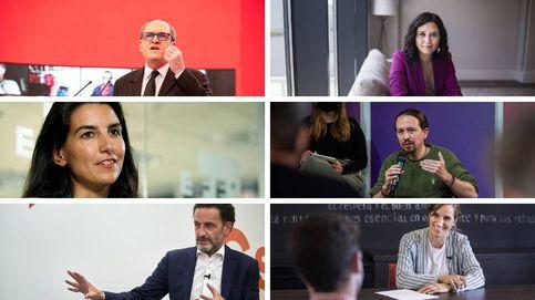 El debate electoral, en directo: sigue el encuentro entre los seis candidatos del 4-M en Telemadrid