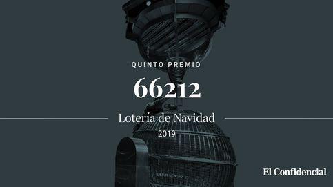 Cuarto quinto de la Lotería de Navidad: el 66212 se lleva 6.000 euros al décimo