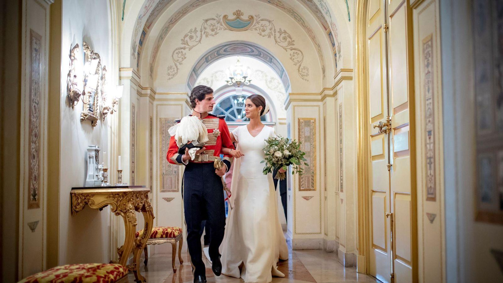 Foto: La boda de los duques de Huéscar. (EFE)