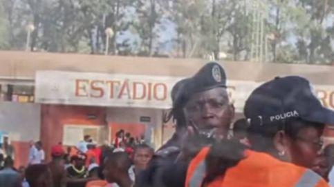 Mueren 17 personas tras una estampida en un estadio de Angola