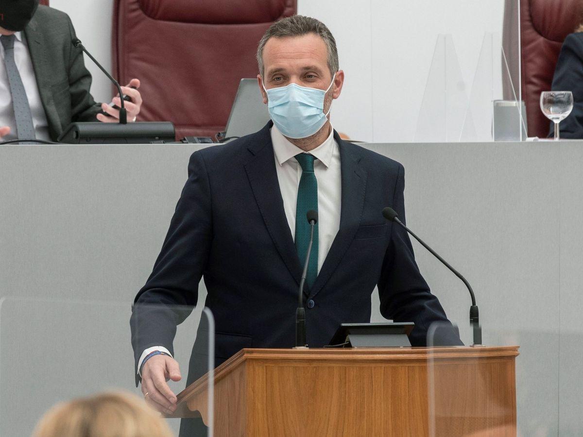 Foto: Joaquín Segado, presidente del PP de Cartagena y portavoz en la Asamblea de Murcia. (EFE)