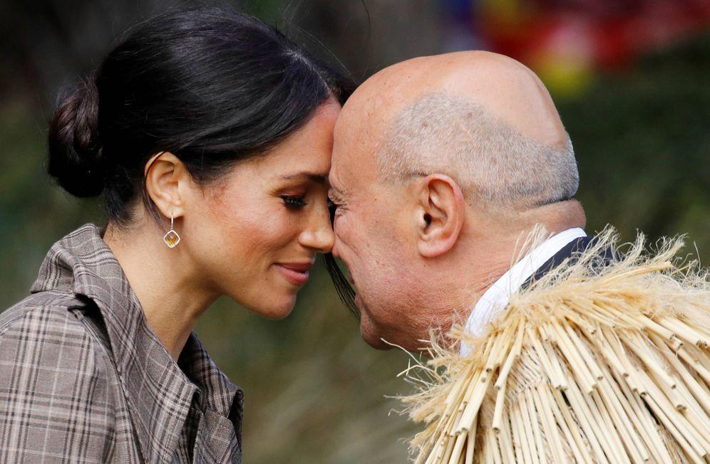 Foto:  Meghan Markle, a su llegada a Wellington. (Reuters)