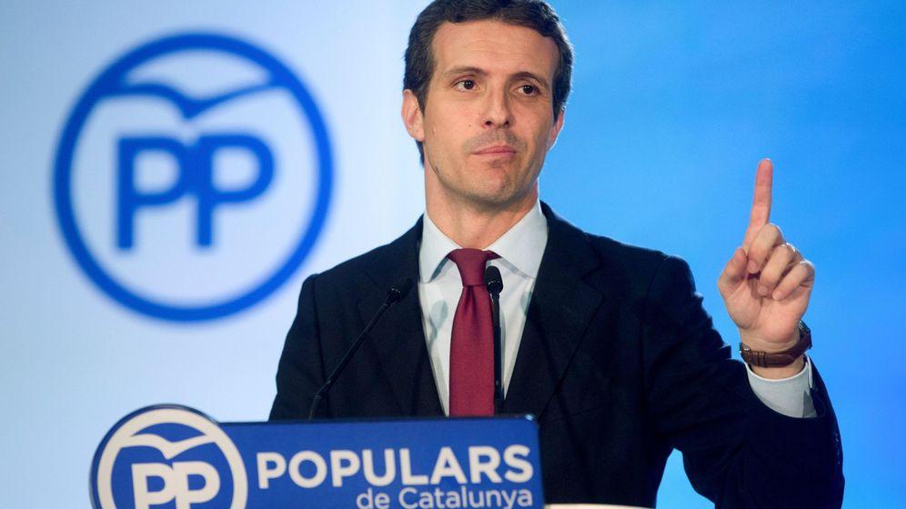 Foto: Pablo Casado, presidente del PP. (EFE)