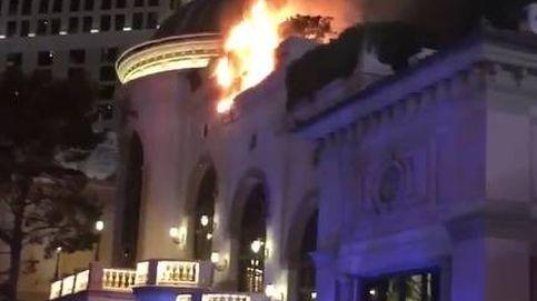 Arde el hotel Bellagio de Las Vegas