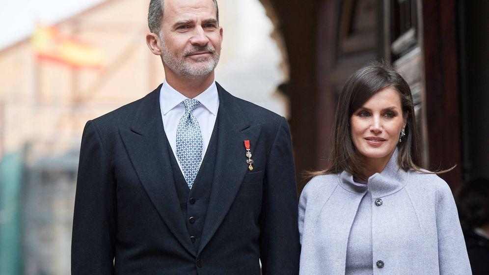 Foto: Felipe VI y Letizia.
