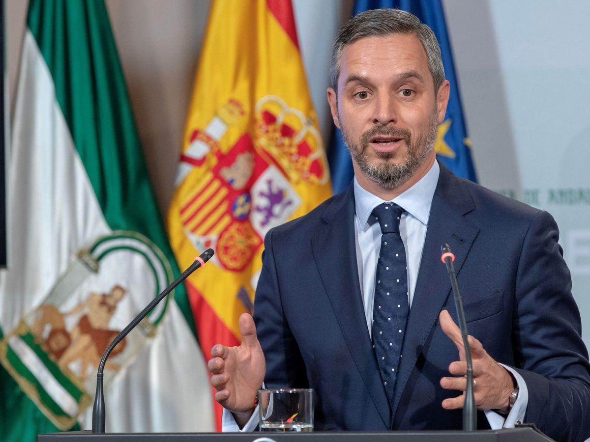 Foto: El consejero andaluz de Hacienda, Industria y Energía, Juan Bravo. (EFE)
