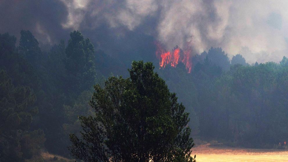El incendio forestal de Barchín (Cuenca) sigue activo tras afectar 2.000 hectáreas