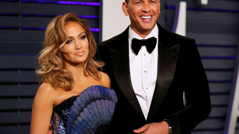 Foto: Jennifer Lopez y Alex Rodriguez. (Reuters)