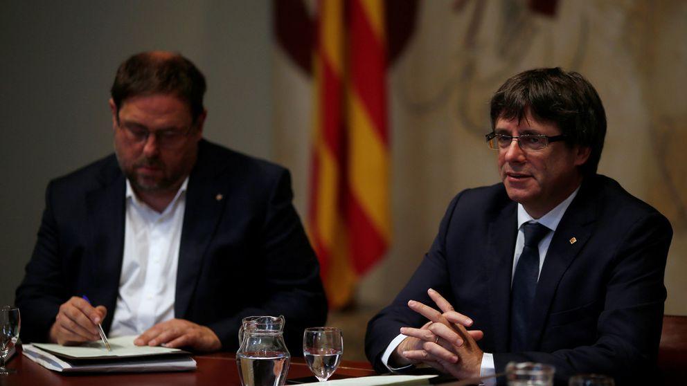 El Gobierno: Puigdemont y Junqueras quedan descalificados después del 1-O