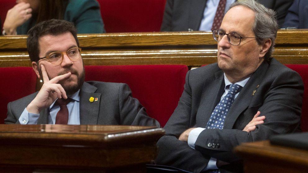 Quim Torra condiciona los Presupuestos a echar a Aragonès de la vicepresidencia