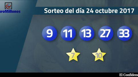 Resultados del sorteo del Euromillones del 17 de octubre de 2017