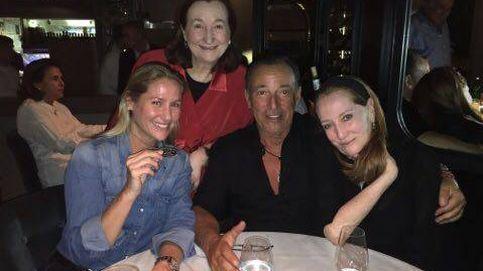 A Springsteen le cuesta dejar Madrid: le pillamos (de nuevo) de cena romántica