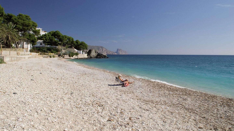 La playa de Cap Negret. (Foto: Agència Valenciana del Turisme)