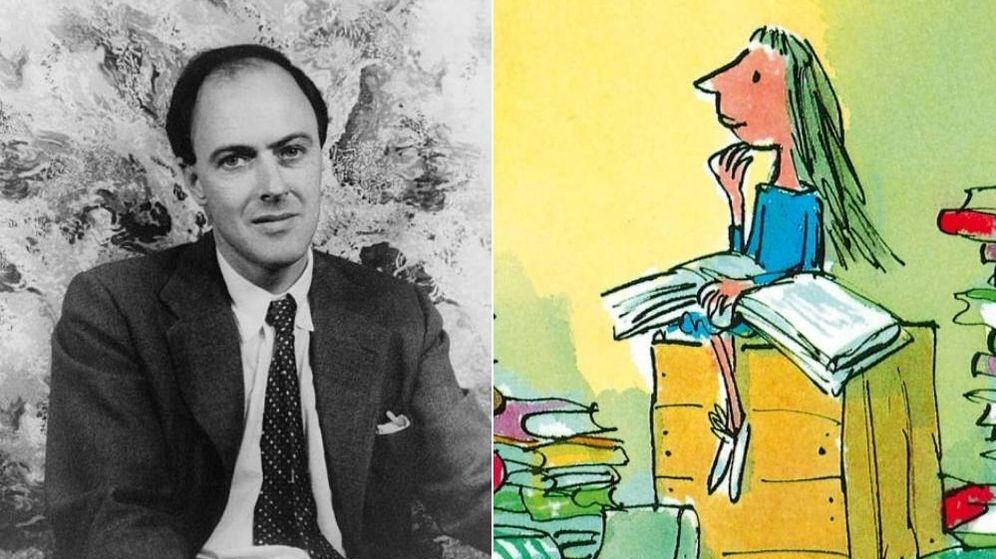 Foto: Retrato de Roald Dahl con 'Matilda', que cumple 30 años (Carl Van Vechten)