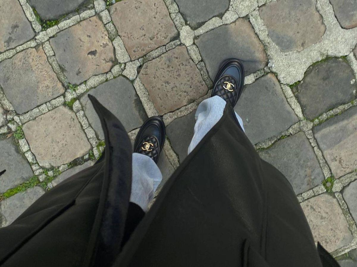 Foto: Los mocasines de Chanel. (Instagram @louloudesaison)