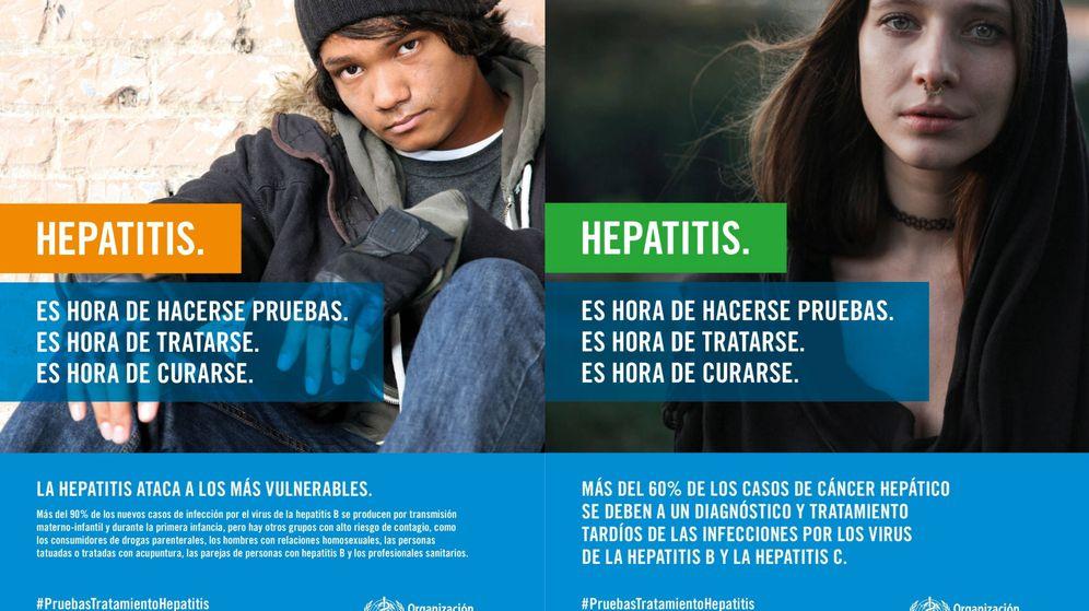 Foto: Carteles de la OMS del Día Mundial contra la Hepatitis | OMS