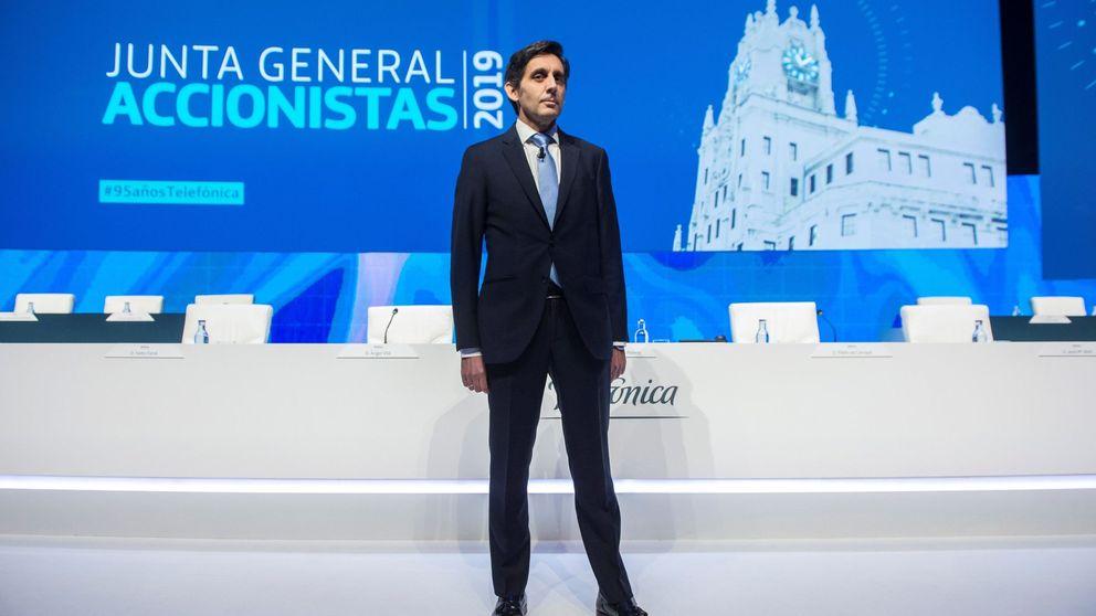Los accionistas de Telefónica aprueban el pago de un dividendo de 0,40 euros