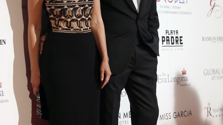 Bertín Osborne y Fabiola Martínez, en 2017. (EFE)