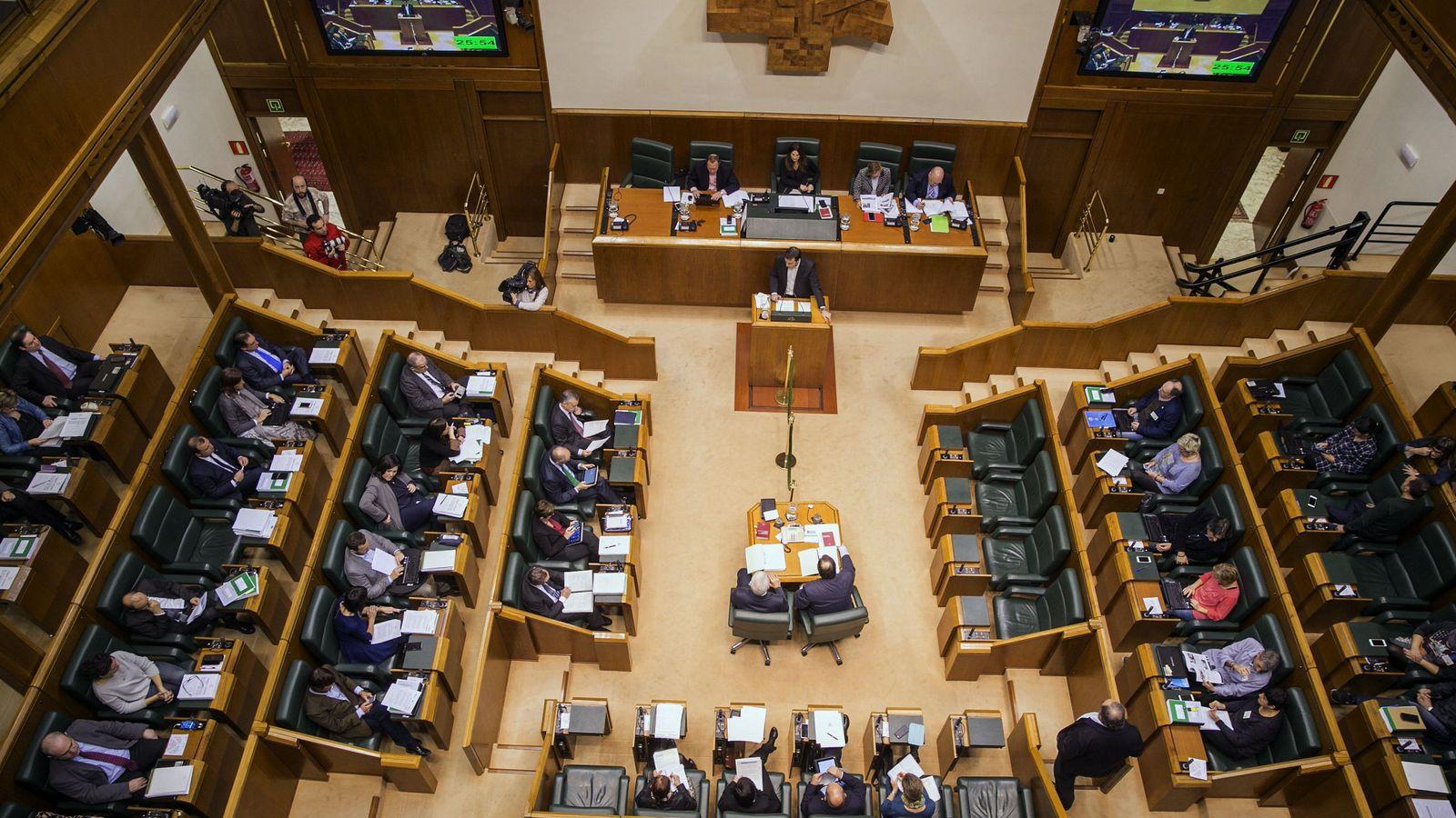 Foto: Parlamento de Vitoria (Efe)