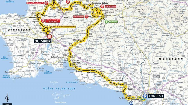 Recorrido de la quinta etapa | Tour de Francia 2018