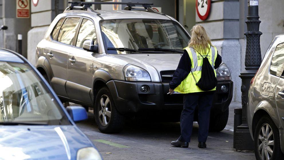 Madrid pone 8.000 multas por aparcamiento y 600 por velocidad